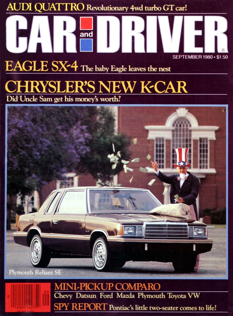 Like, Totally Rad: The Car and Driver Covers of the 1980s - Slide 10