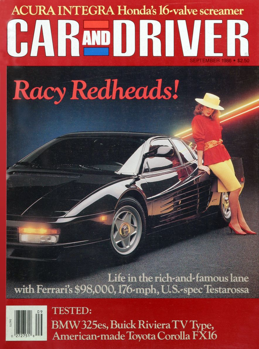 Like, Totally Rad: The Car and Driver Covers of the 1980s - Slide 82