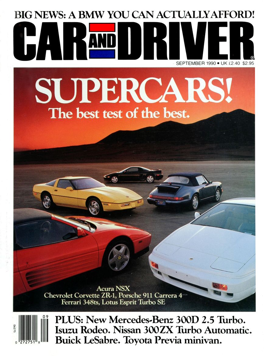 Formula C/D: The Car and Driver Covers of the 1990s - Slide 10