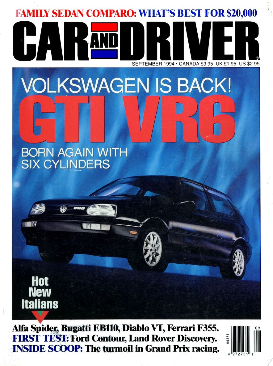 Formula C/D: The Car and Driver Covers of the 1990s - Slide 58