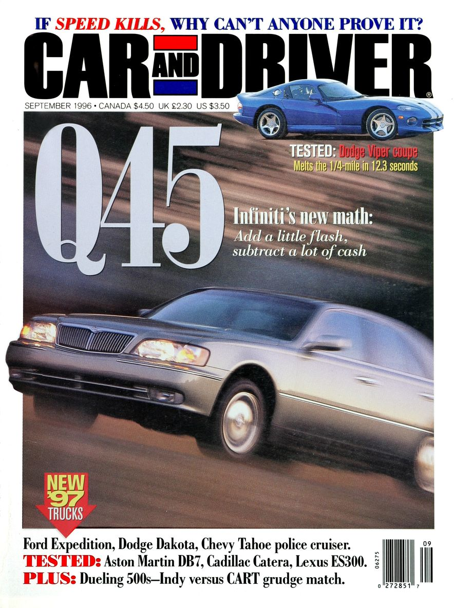 Formula C/D: The Car and Driver Covers of the 1990s - Slide 82