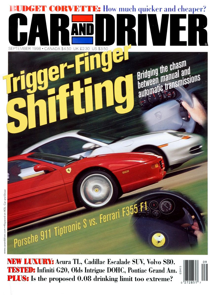 Formula C/D: The Car and Driver Covers of the 1990s - Slide 106