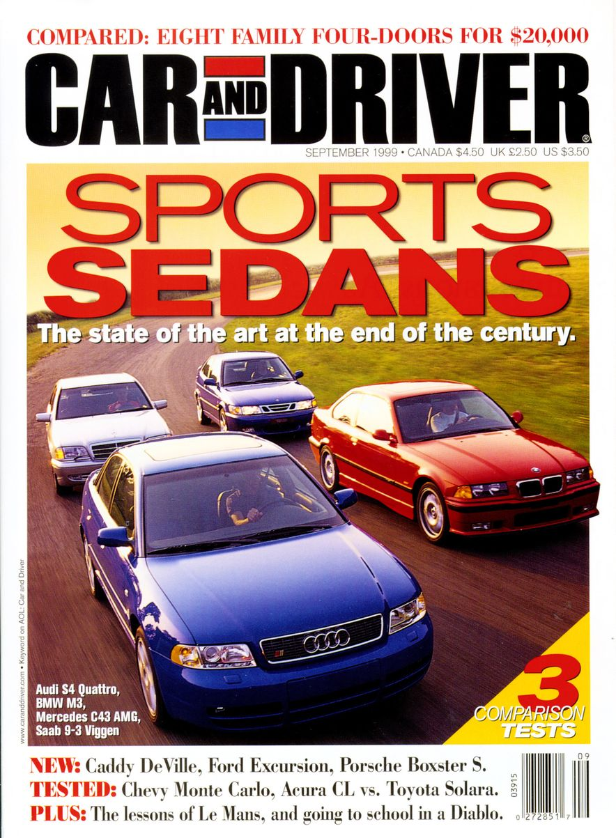Formula C/D: The Car and Driver Covers of the 1990s - Slide 118