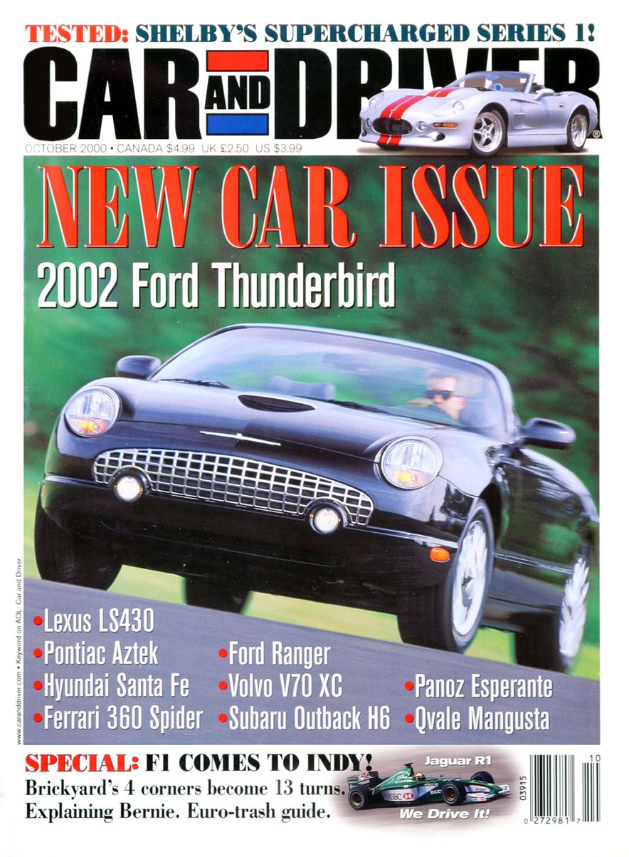 Going Millennial: The Car and Driver Covers of the 2000s and 2010s - Slide 11