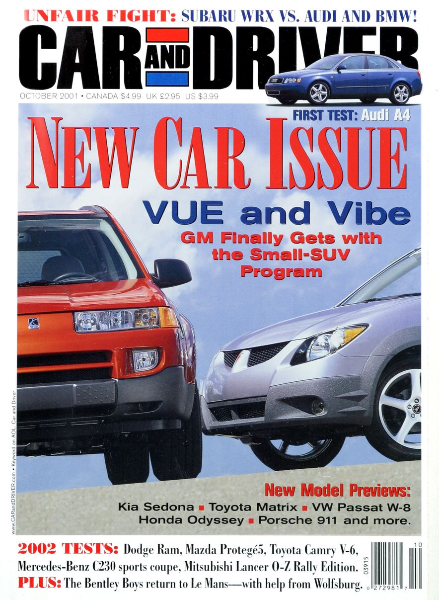 Going Millennial: The Car and Driver Covers of the 2000s and 2010s - Slide 23