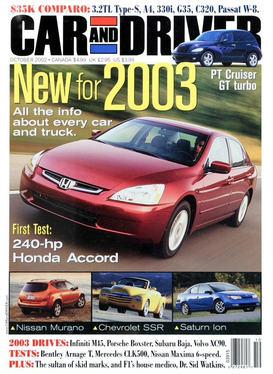Going Millennial: The Car and Driver Covers of the 2000s and 2010s - Slide 35
