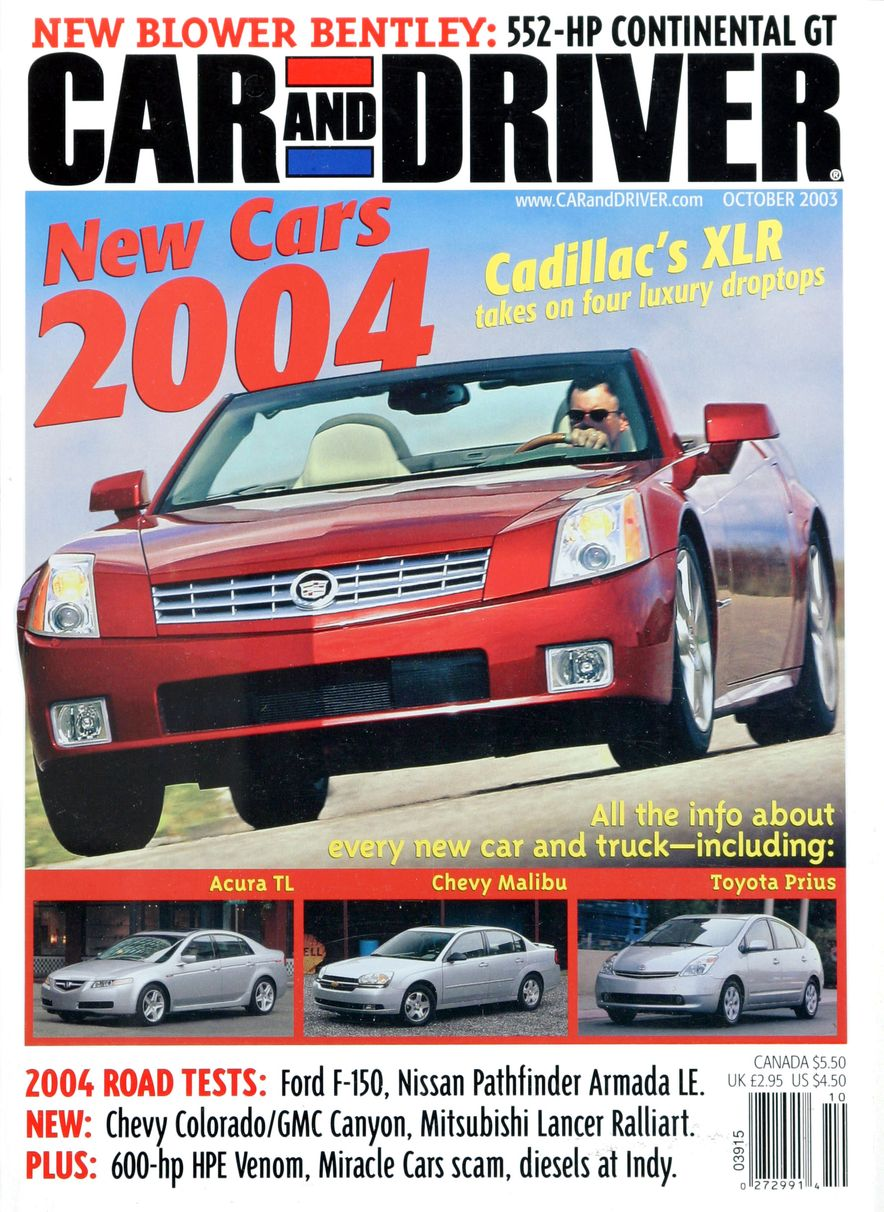 Going Millennial: The Car and Driver Covers of the 2000s and 2010s - Slide 47