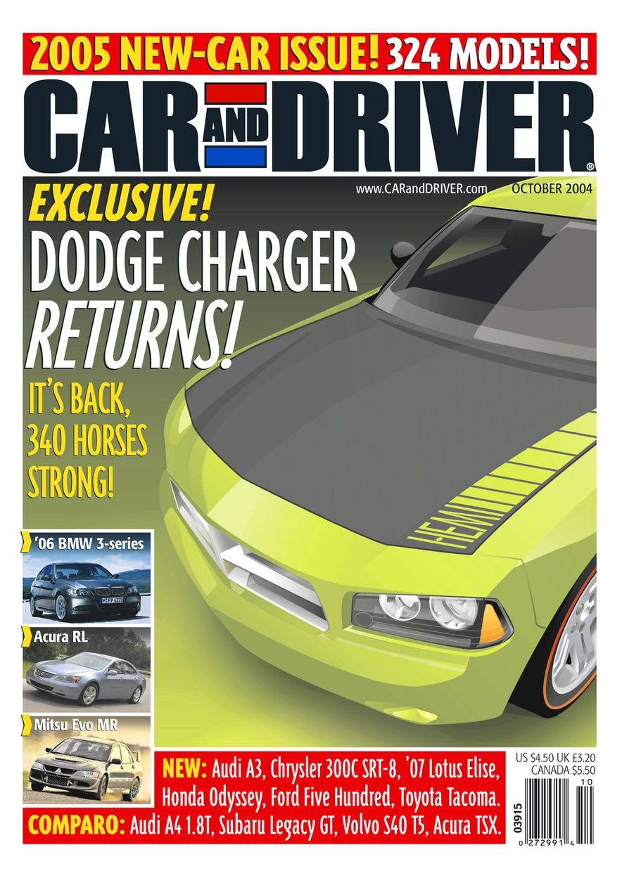 Going Millennial: The Car and Driver Covers of the 2000s and 2010s - Slide 59