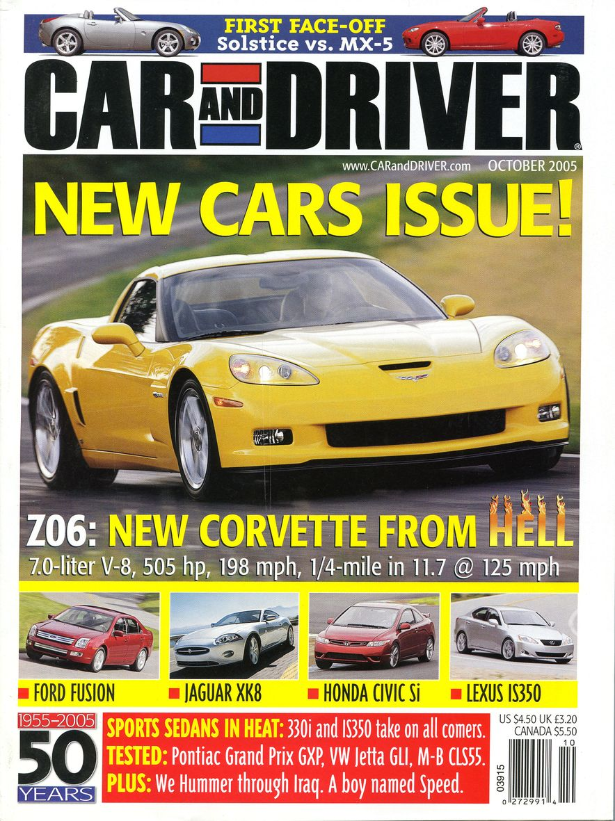 Going Millennial: The Car and Driver Covers of the 2000s and 2010s - Slide 71