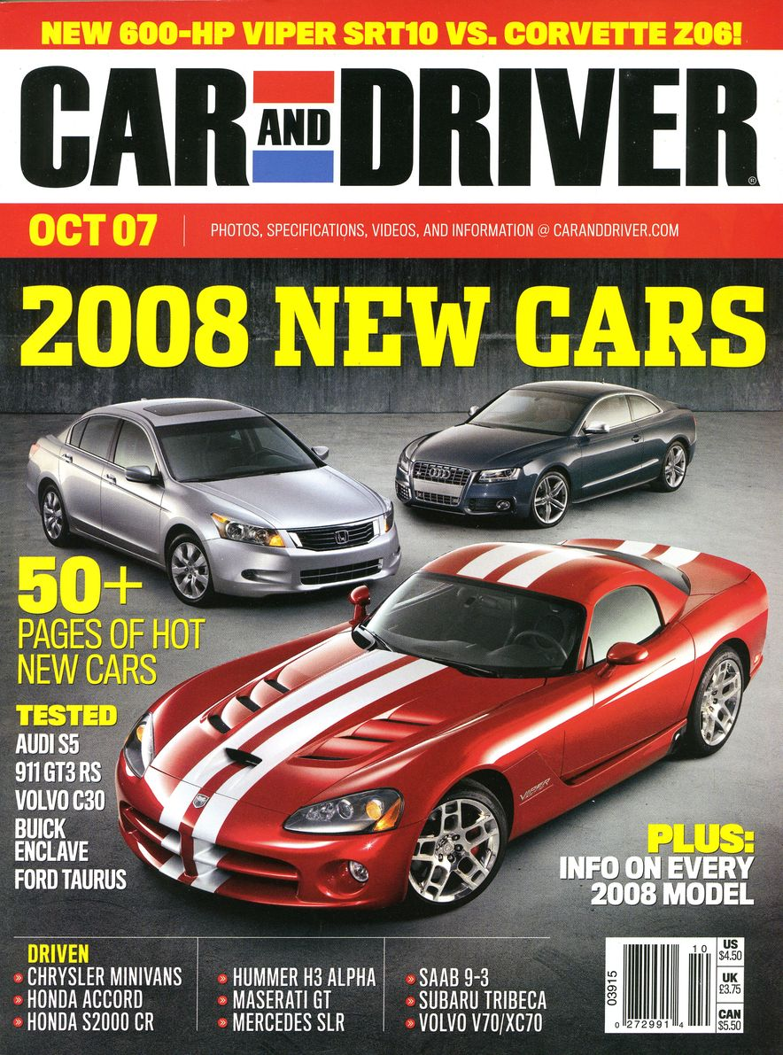 Going Millennial: The Car and Driver Covers of the 2000s and 2010s - Slide 95