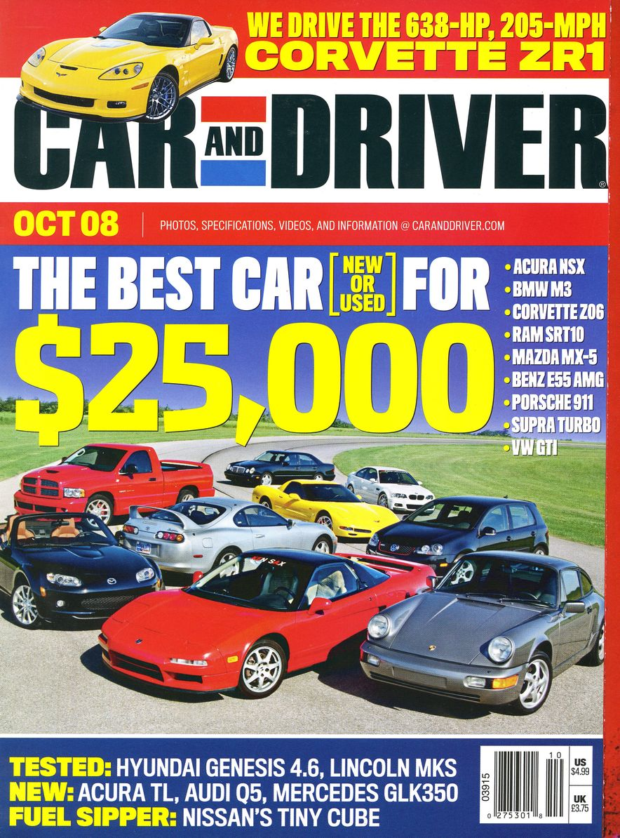 Going Millennial: The Car and Driver Covers of the 2000s and 2010s - Slide 107