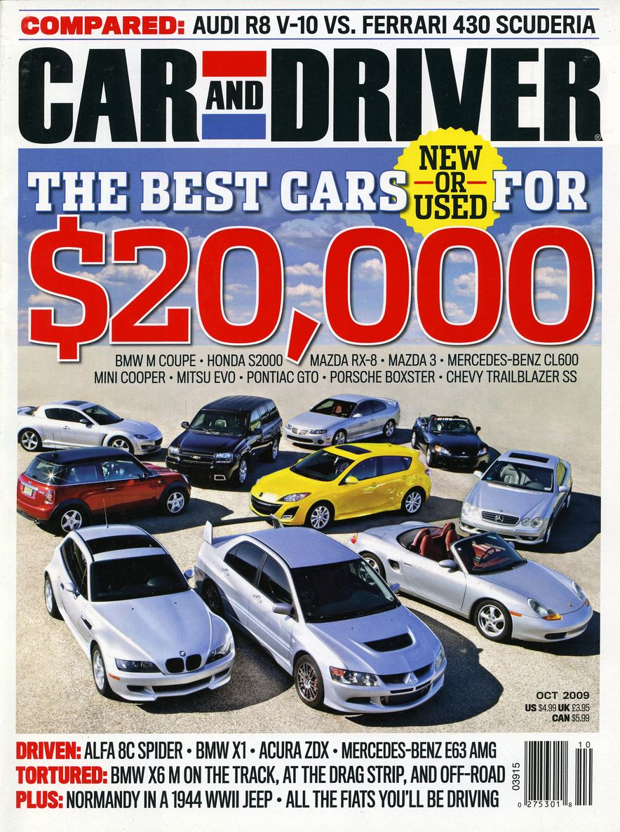 Going Millennial: The Car and Driver Covers of the 2000s and 2010s - Slide 119