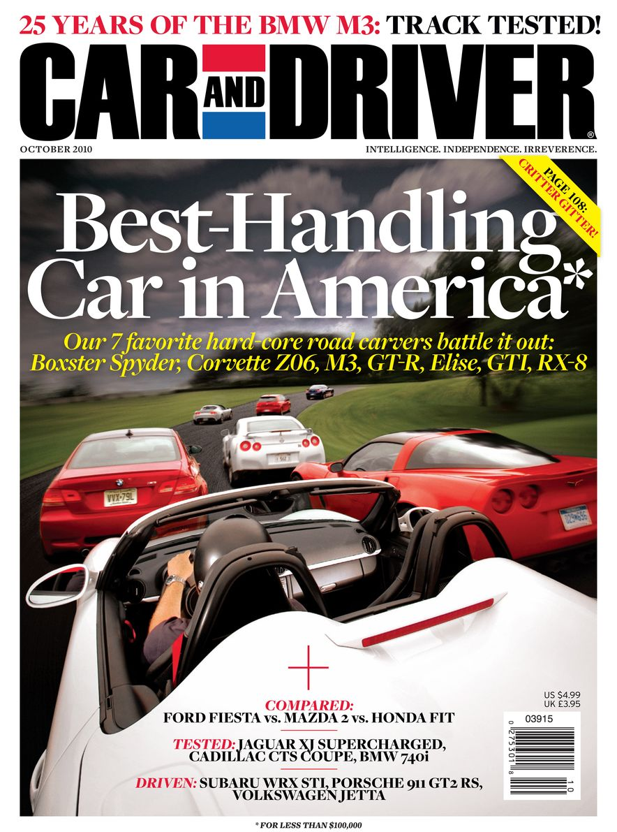 Going Millennial: The Car and Driver Covers of the 2000s and 2010s - Slide 131