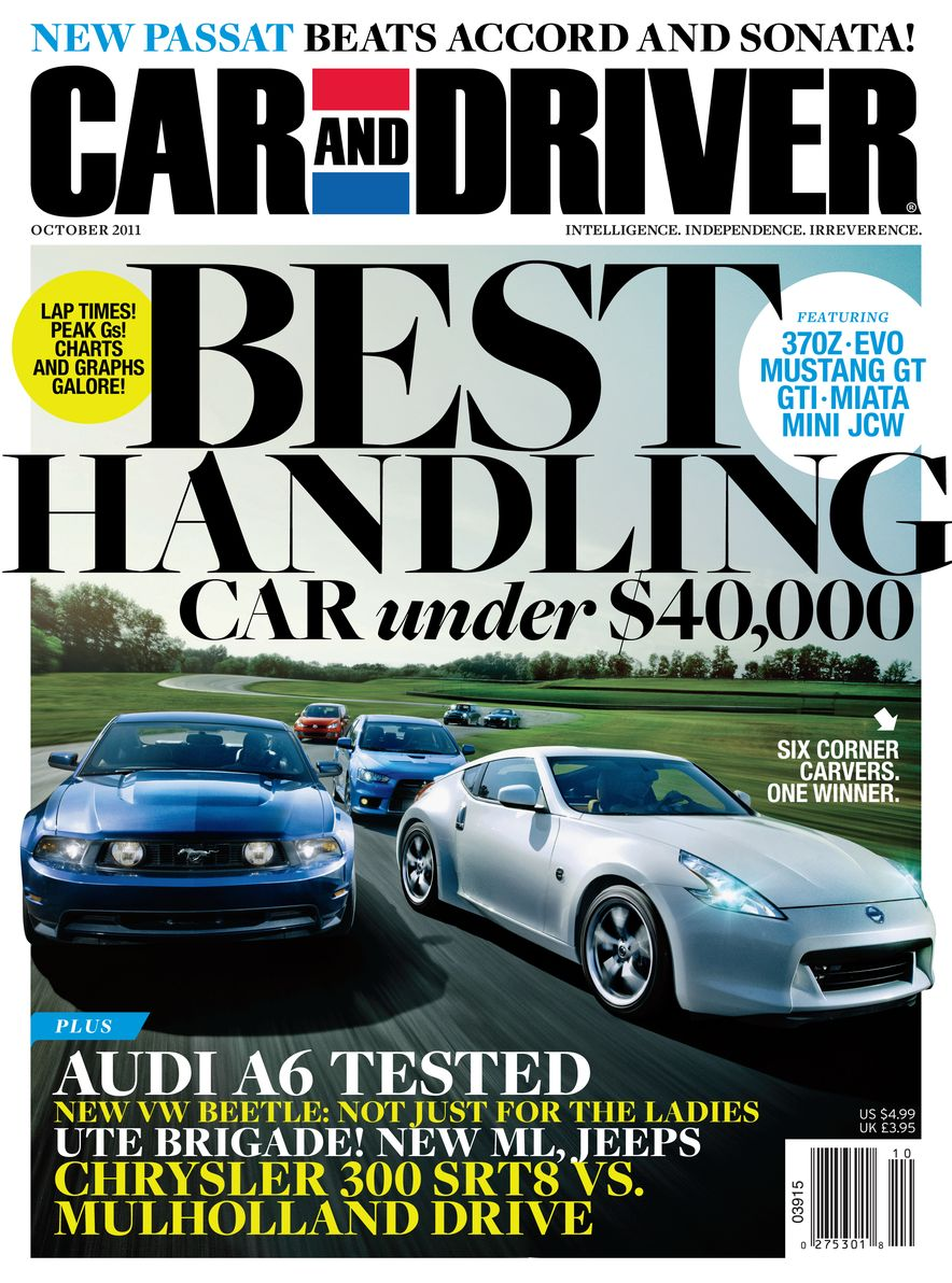 Going Millennial: The Car and Driver Covers of the 2000s and 2010s - Slide 143