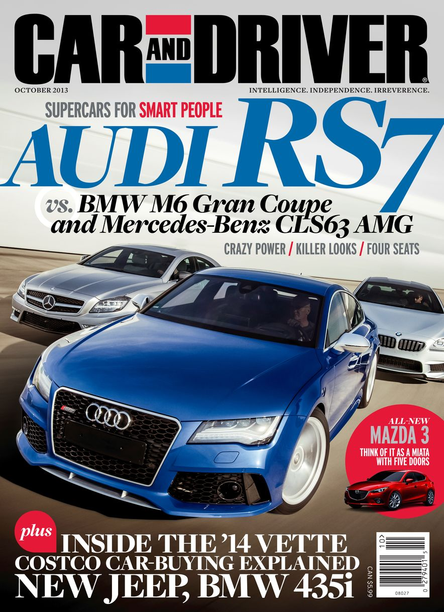 Going Millennial: The Car and Driver Covers of the 2000s and 2010s - Slide 167