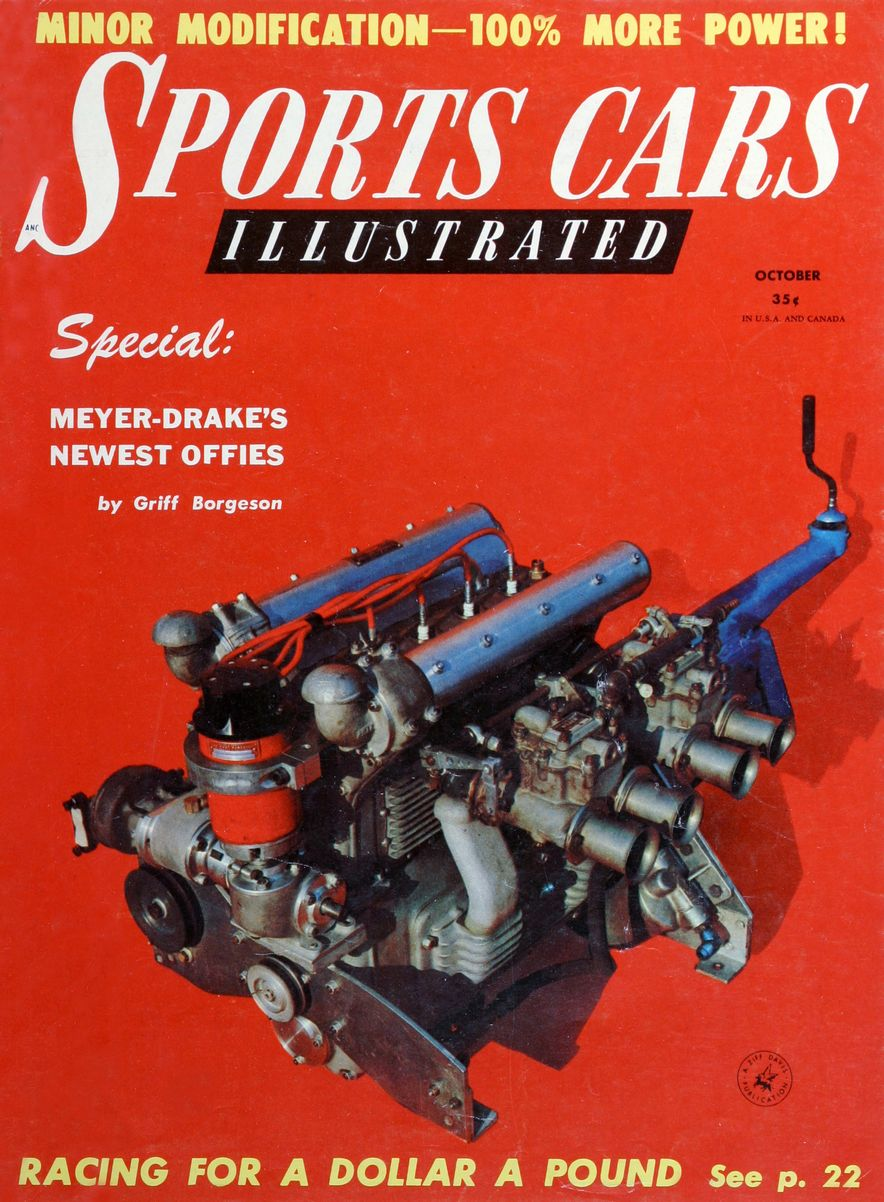 When We Were Young: The Car and Driver/Sports Cars Illustrated Covers of the 1950s - Slide 17