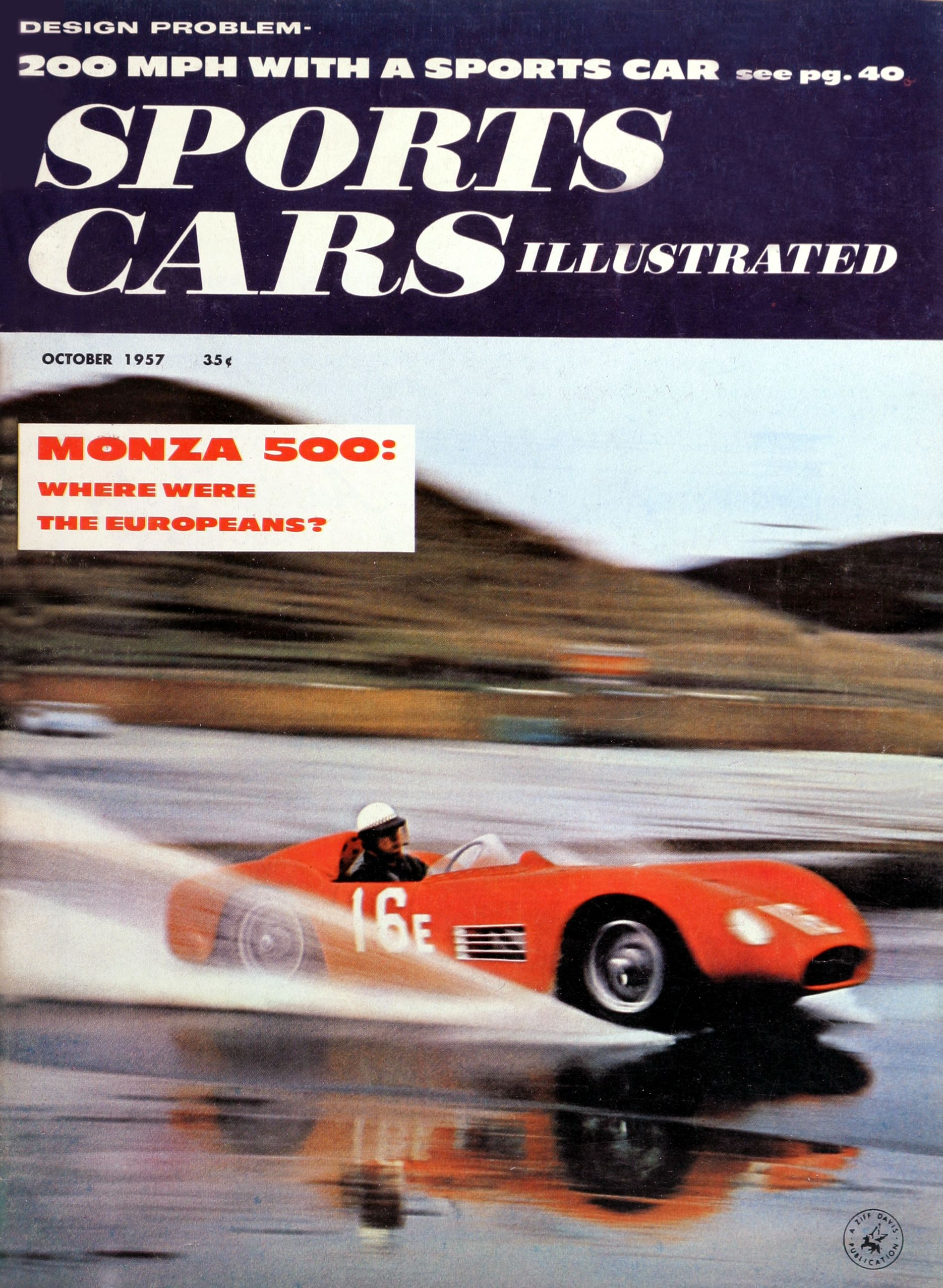 When We Were Young: The Car And Driver/Sports Cars Illustrated Covers Of The