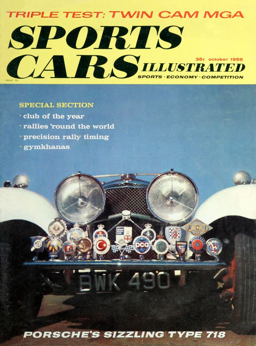 When We Were Young: The Car and Driver/Sports Cars Illustrated Covers of the 1950s - Slide 41