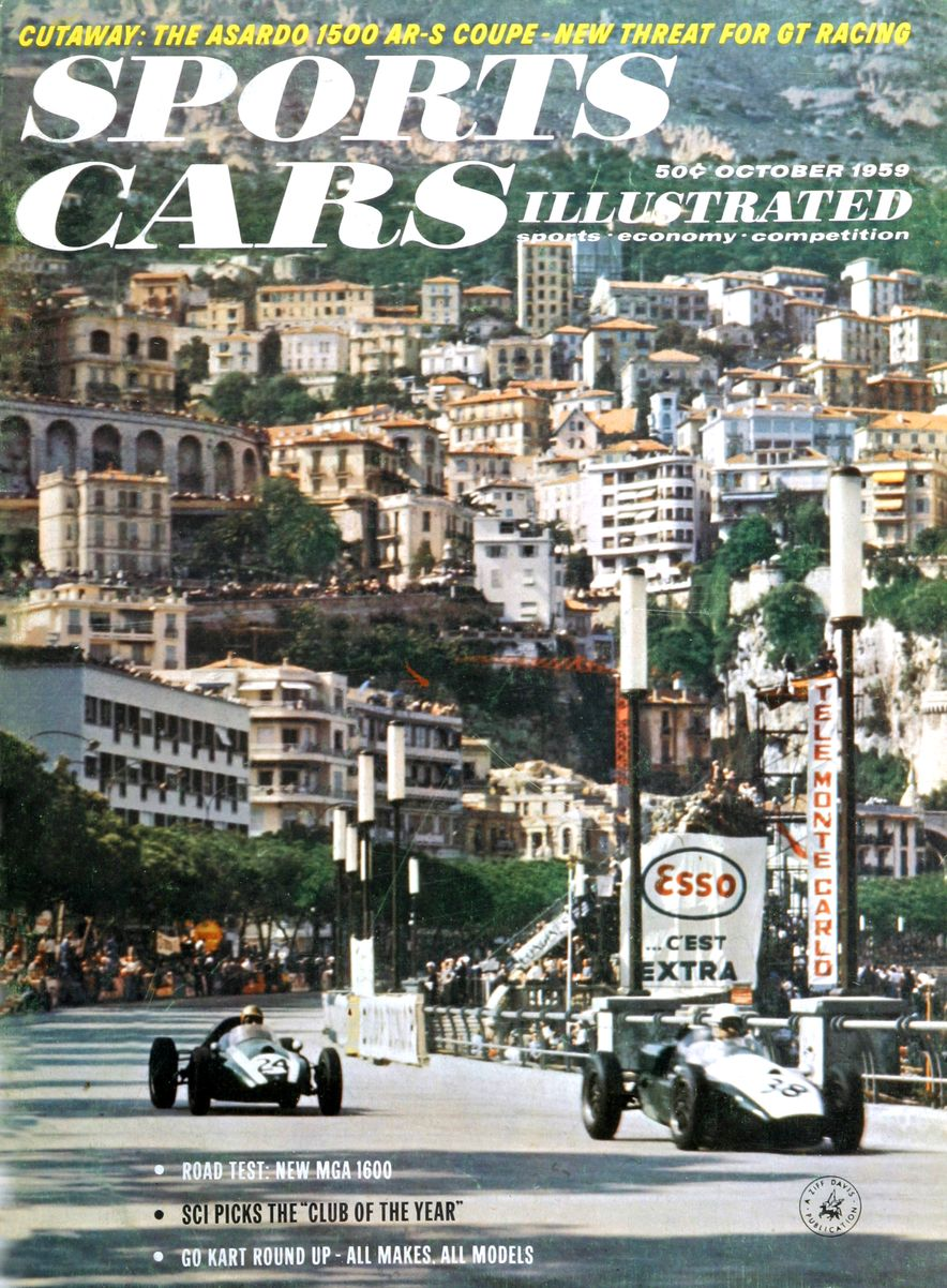 When We Were Young: The Car and Driver/Sports Cars Illustrated Covers of the 1950s - Slide 53
