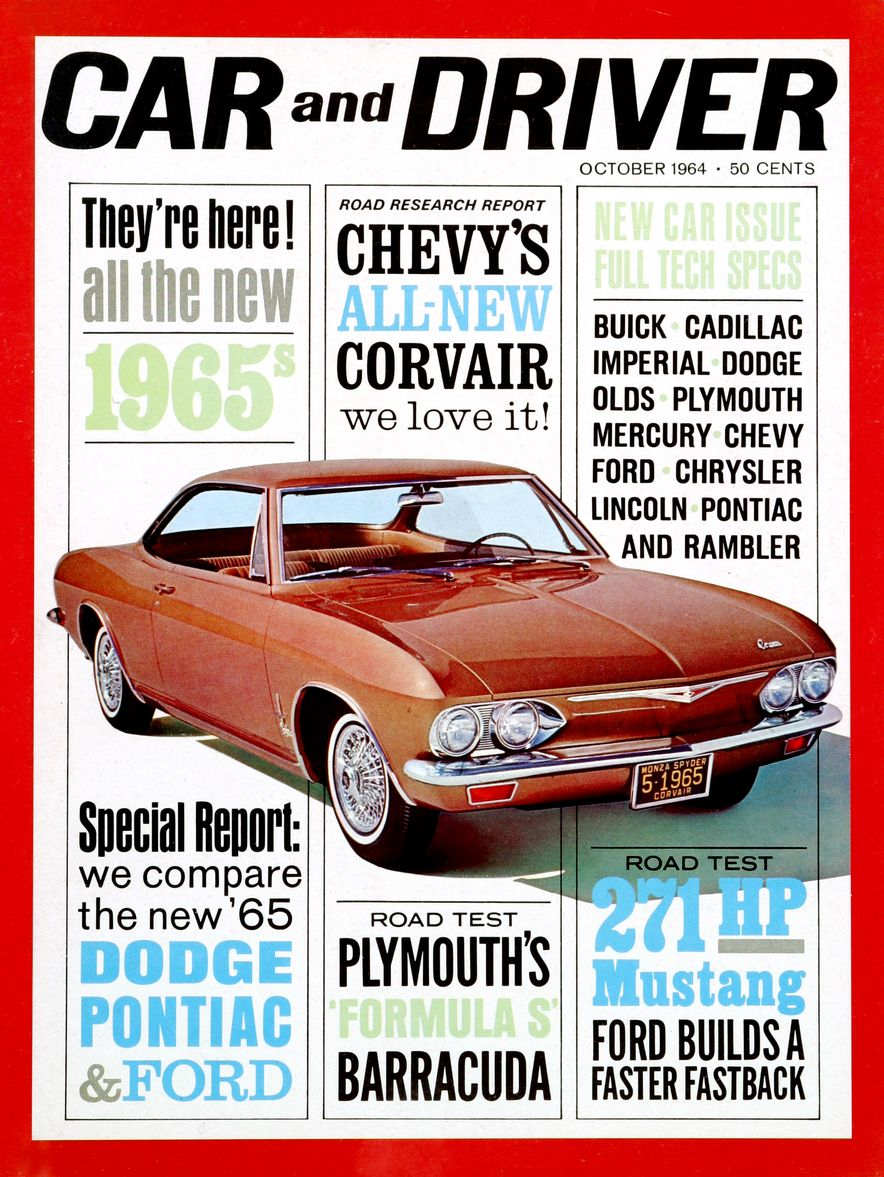 Getting Groovy and into the Groove: The Car and Driver Covers of the 1960s - Slide 59