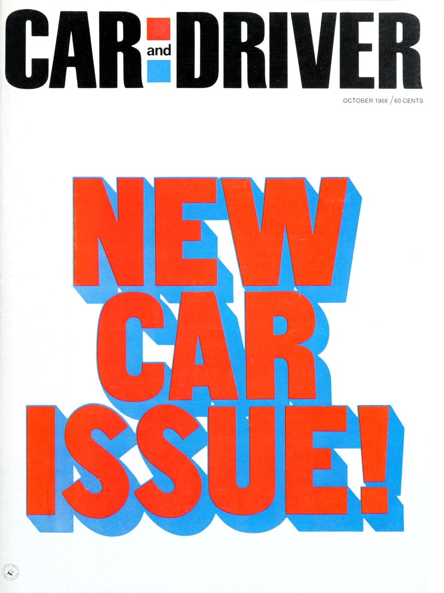 Getting Groovy and into the Groove: The Car and Driver Covers of the 1960s - Slide 107
