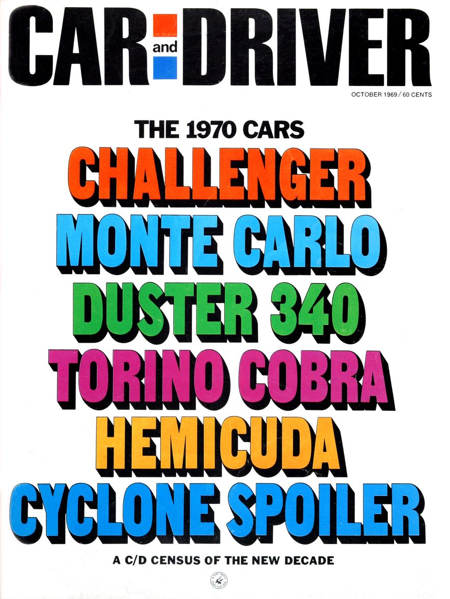 Getting Groovy and into the Groove: The Car and Driver Covers of the 1960s - Slide 119
