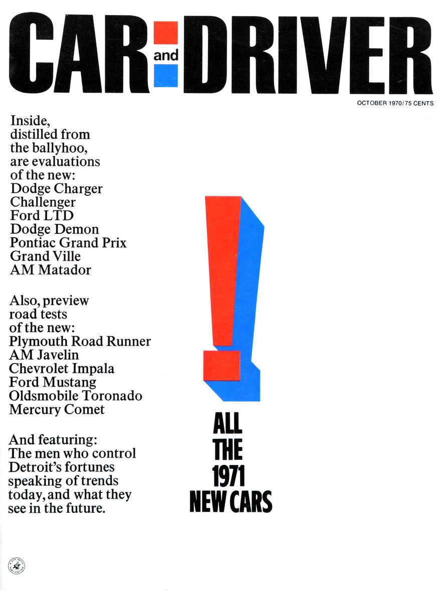 The Us Decade: The Car and Driver Covers of the 1970s - Slide 11