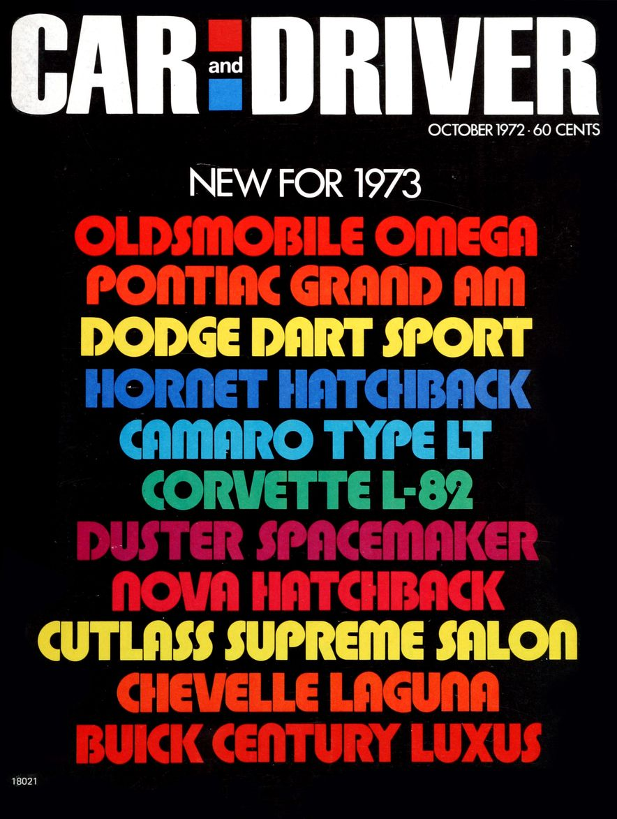 The Us Decade: The Car and Driver Covers of the 1970s - Slide 35