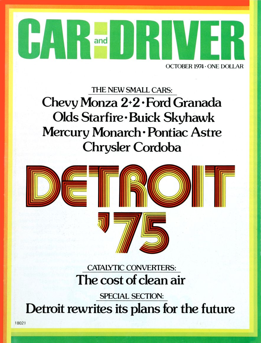 The Us Decade: The Car and Driver Covers of the 1970s - Slide 59
