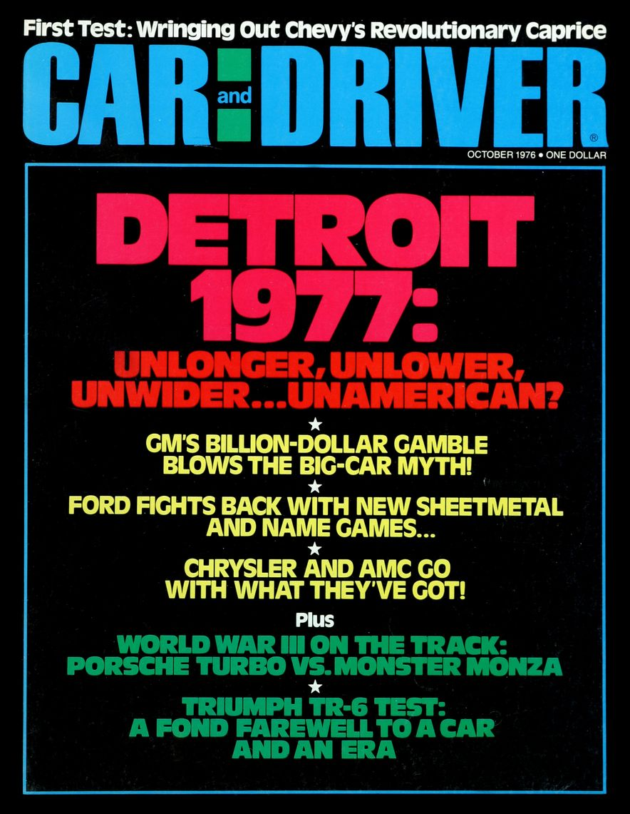 The Us Decade: The Car and Driver Covers of the 1970s - Slide 83
