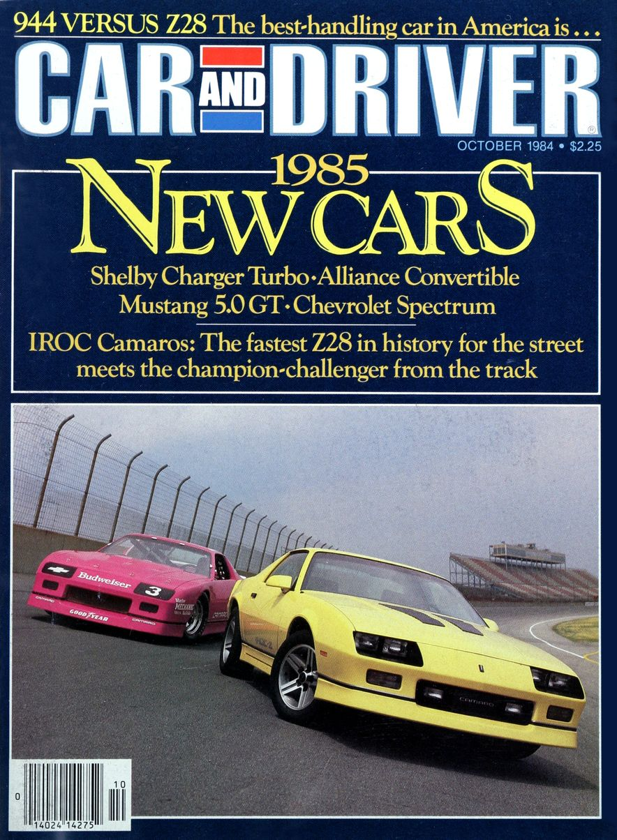Like, Totally Rad: The Car and Driver Covers of the 1980s - Slide 59