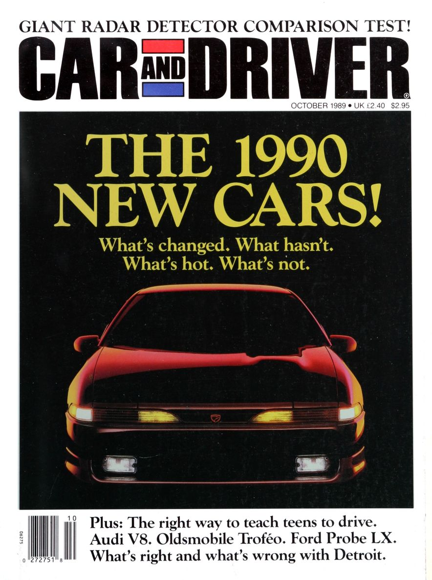 Like, Totally Rad: The Car and Driver Covers of the 1980s - Slide 119