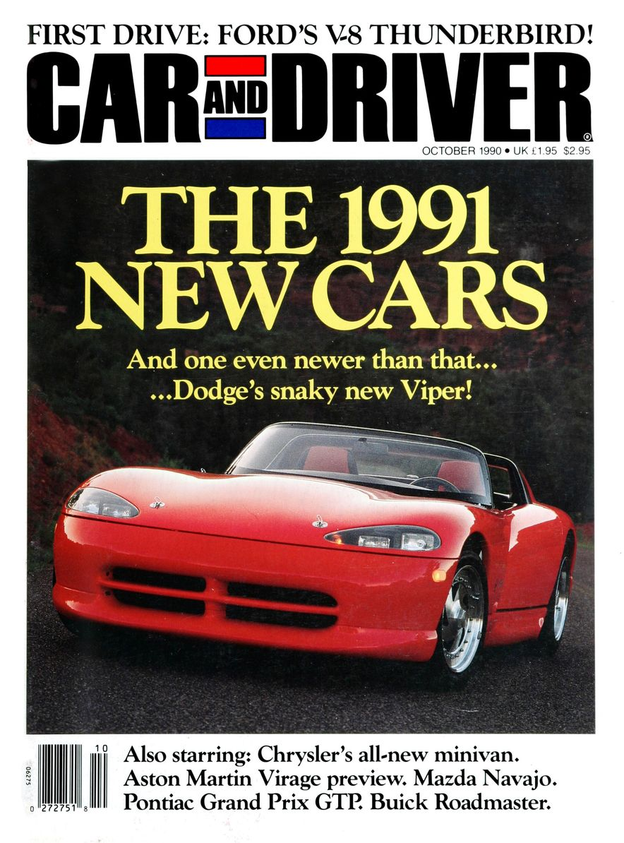 Formula C/D: The Car and Driver Covers of the 1990s - Slide 11