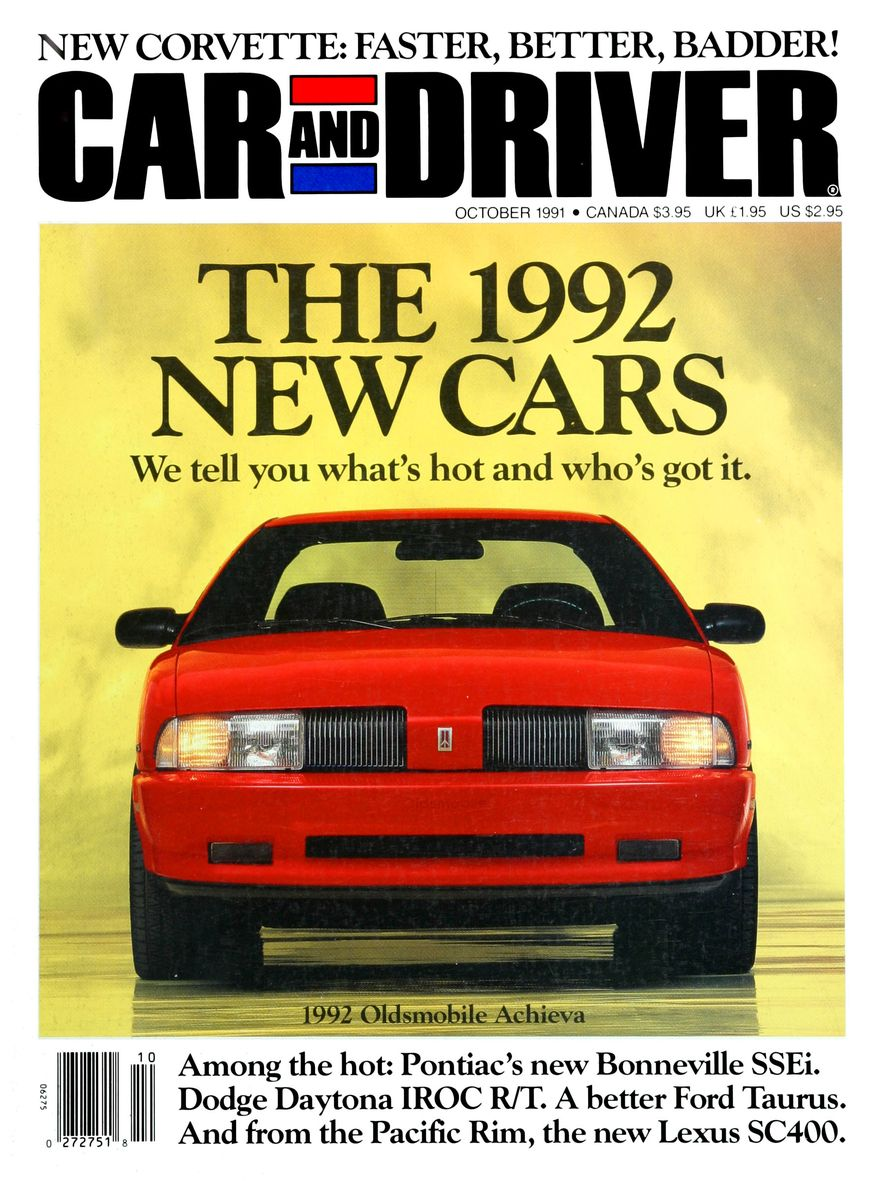 Formula C/D: The Car and Driver Covers of the 1990s - Slide 23