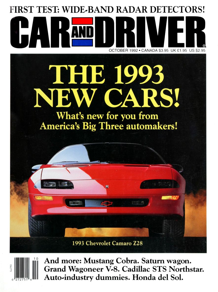 Formula C/D: The Car and Driver Covers of the 1990s - Slide 35