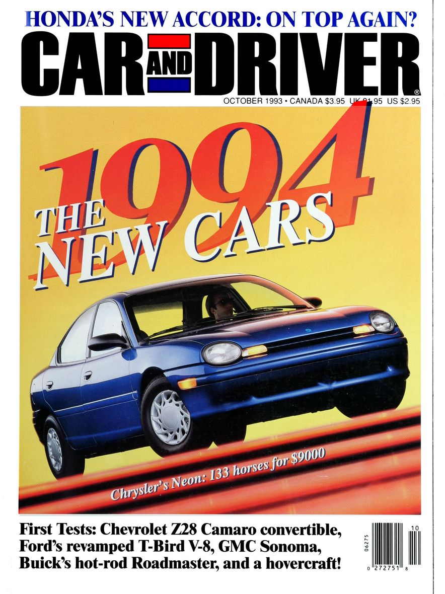 Formula C/D: The Car and Driver Covers of the 1990s - Slide 47