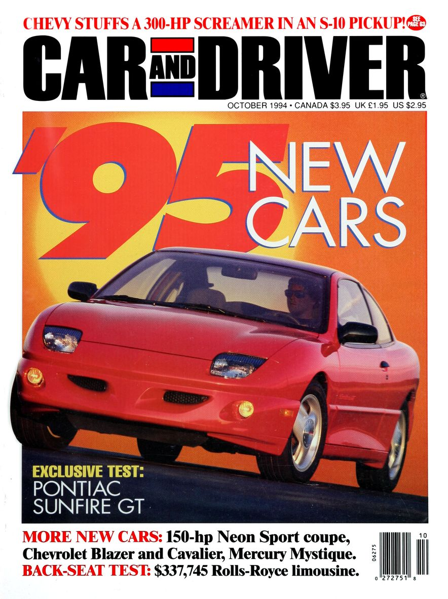 Formula C/D: The Car and Driver Covers of the 1990s - Slide 59