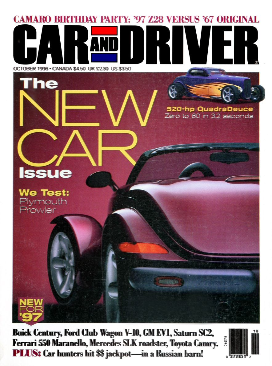 Formula C/D: The Car and Driver Covers of the 1990s - Slide 83