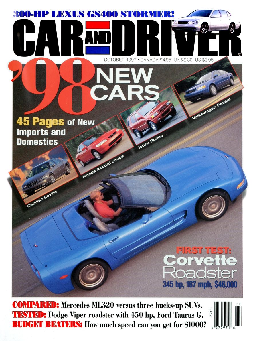 Formula C/D: The Car and Driver Covers of the 1990s - Slide 95