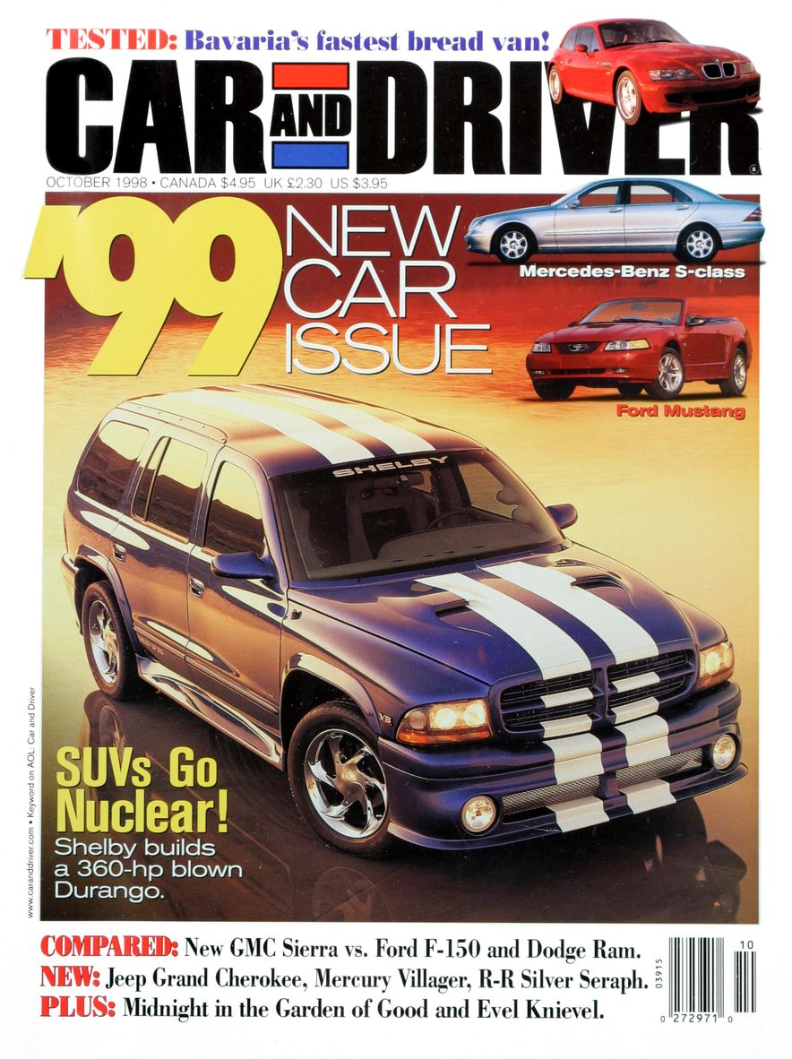 Formula C/D: The Car and Driver Covers of the 1990s - Slide 107