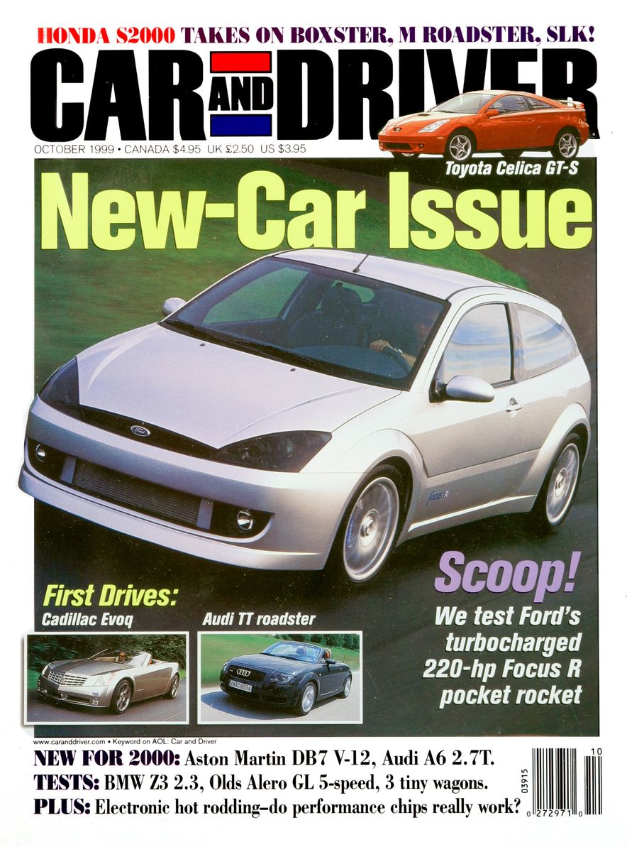 Formula C/D: The Car and Driver Covers of the 1990s - Slide 119