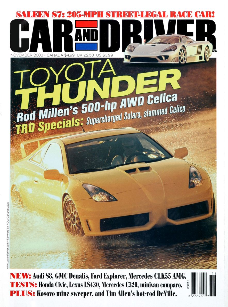 Going Millennial: The Car and Driver Covers of the 2000s and 2010s - Slide 12