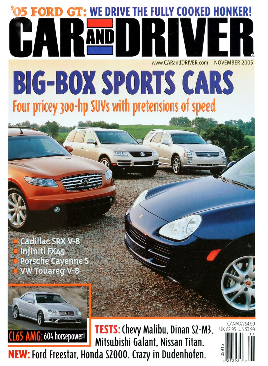 Going Millennial: The Car and Driver Covers of the 2000s and 2010s - Slide 48