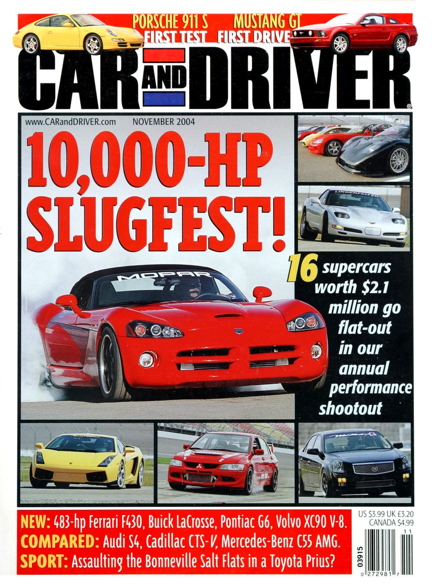 Going Millennial: The Car and Driver Covers of the 2000s and 2010s - Slide 60
