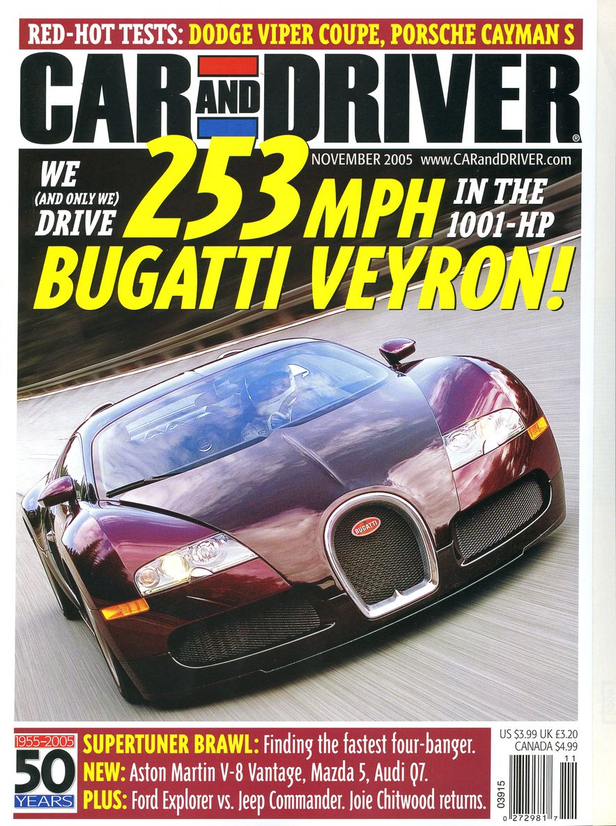 Going Millennial: The Car and Driver Covers of the 2000s and 2010s - Slide 72
