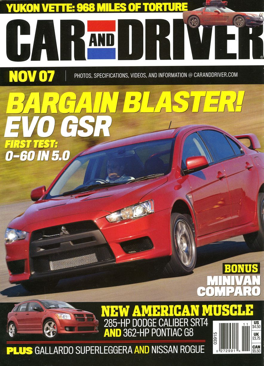 Going Millennial: The Car and Driver Covers of the 2000s and 2010s - Slide 96