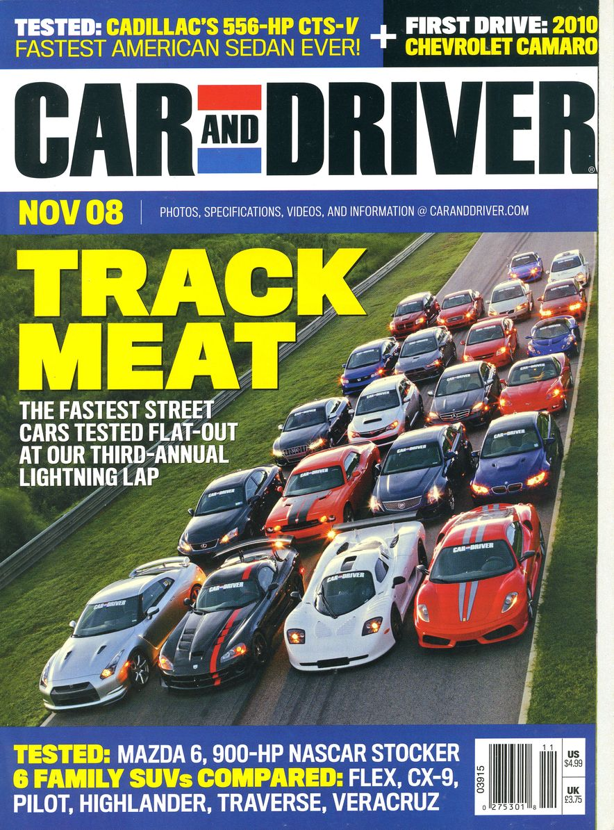 Going Millennial: The Car and Driver Covers of the 2000s and 2010s - Slide 108