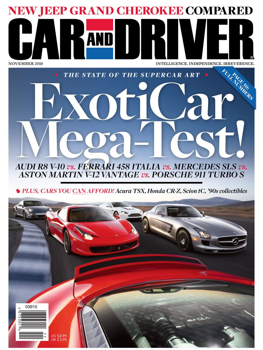 Going Millennial: The Car and Driver Covers of the 2000s and 2010s - Slide 132