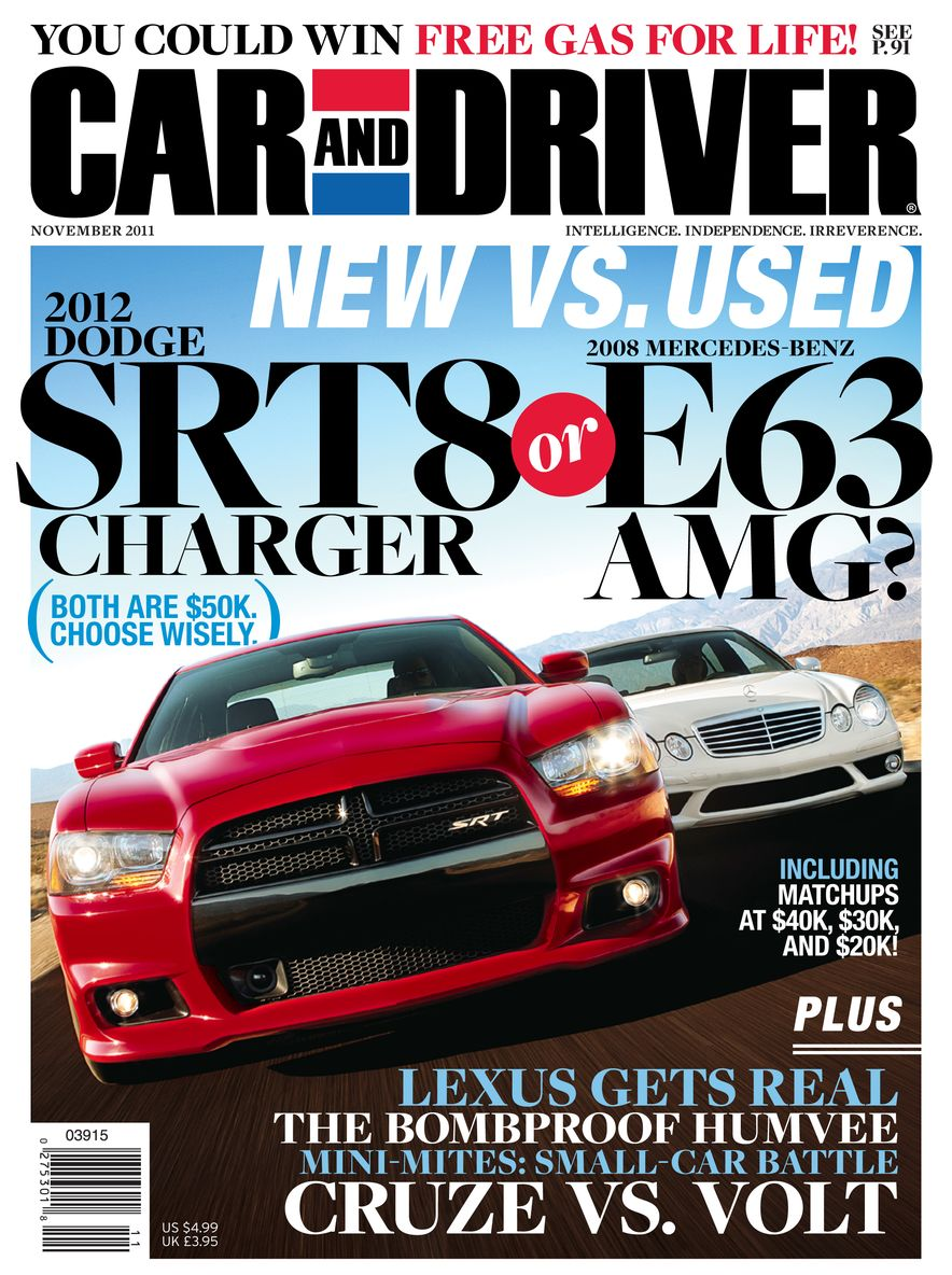 Going Millennial: The Car and Driver Covers of the 2000s and 2010s - Slide 144