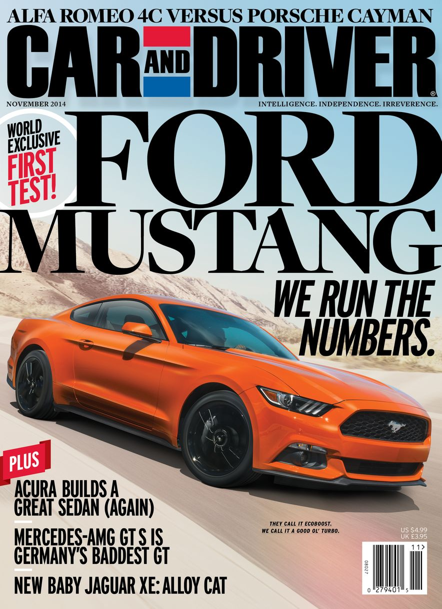 Going Millennial: The Car and Driver Covers of the 2000s and 2010s - Slide 180